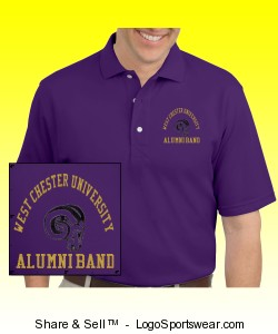 WCU Alumni Band Polo Design Zoom